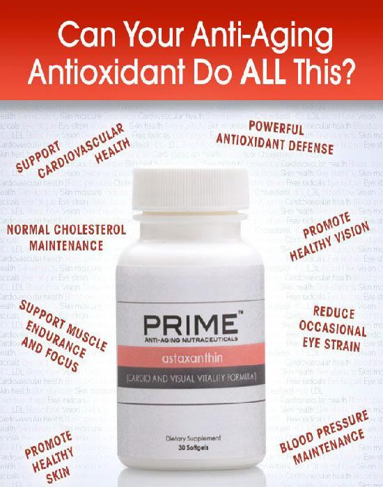 Astaxanthin antioxidant