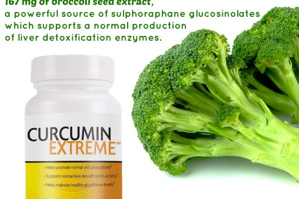 Curcumin With Broccoli Seed Extract