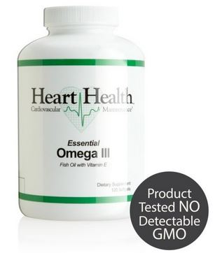 Heart Health Omega III Fish Oil