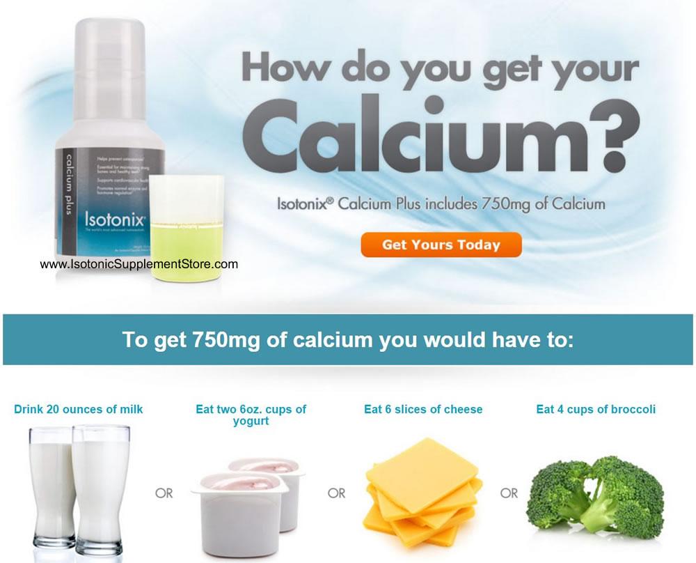 Isotonix calcium