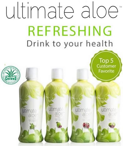 Ultimate Aloe Bottles