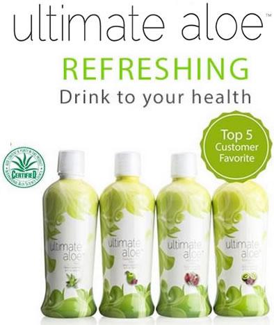 Ultimate Aloe Bottles