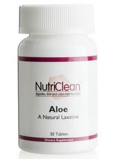 NutriClean Aloe Natural Laxative
