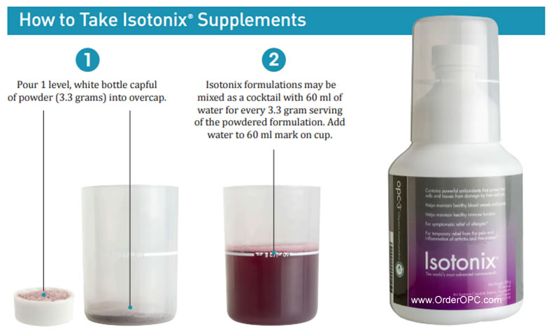 how-to-mix-isotonix-supplements