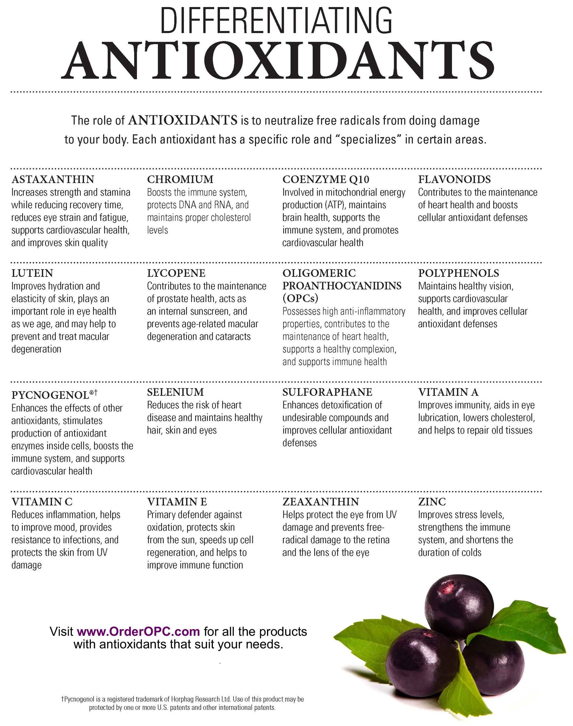 The-Role-Of-Antioxidants