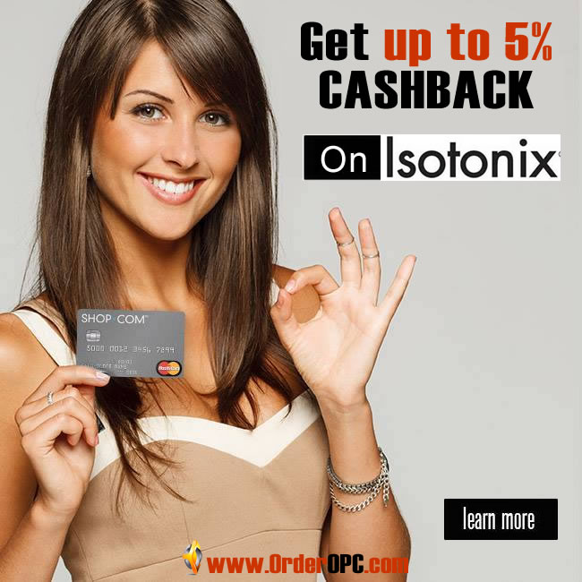 ‎Up To 5% Cashback‬ On Isotonix