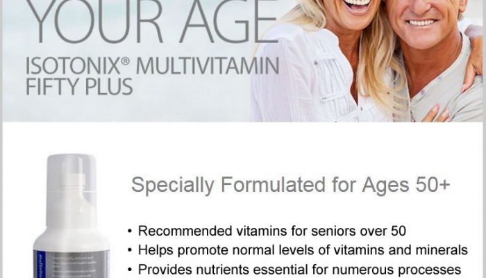 Multivitamin For Seniors Over 50