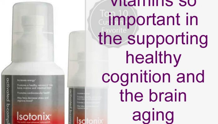 B Vitamins And The Brain Aging Process